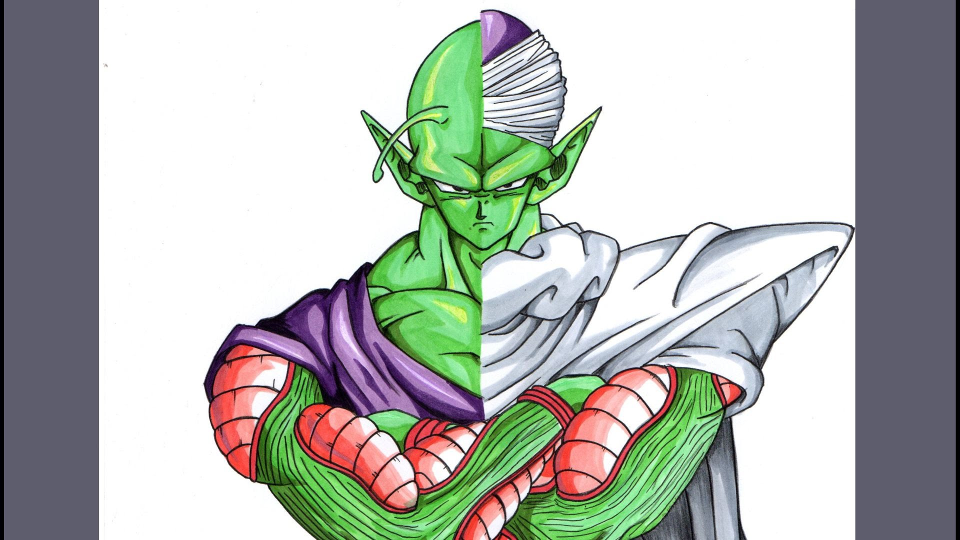 Dragonballz drawing at getdrawings free for personal use 1920x1080 drawing piccolo from dragonball z publicscrutiny Gallery