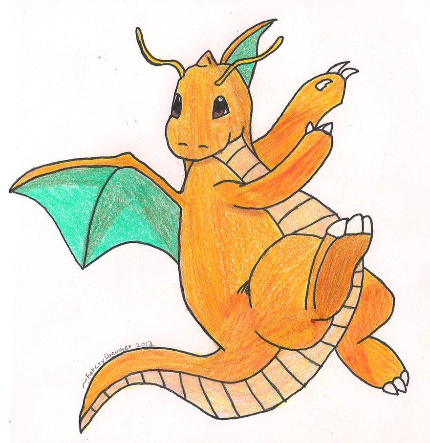 880x907 Art Trade Dragonite By Farcrydreamer