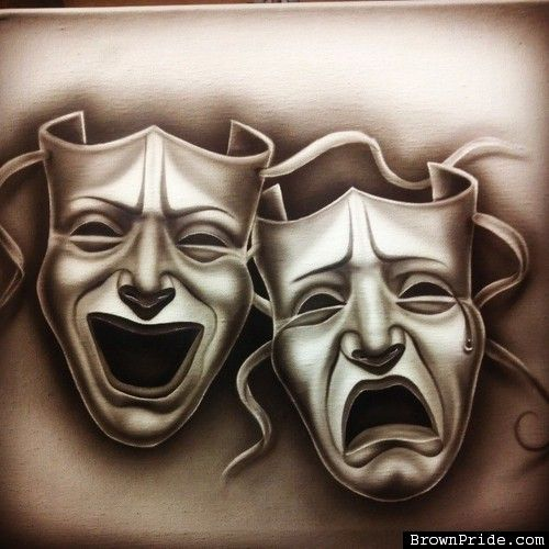 500x500 Smile Now Cry Later Drama Mask Chicano Drama Masks