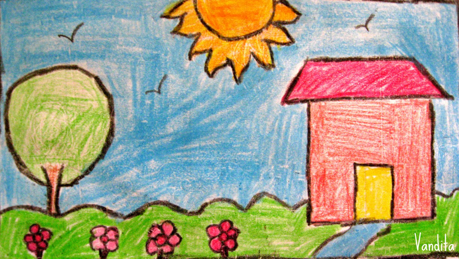 1600x901 Children Have Talent Beautiful And Colorful House By Vandita