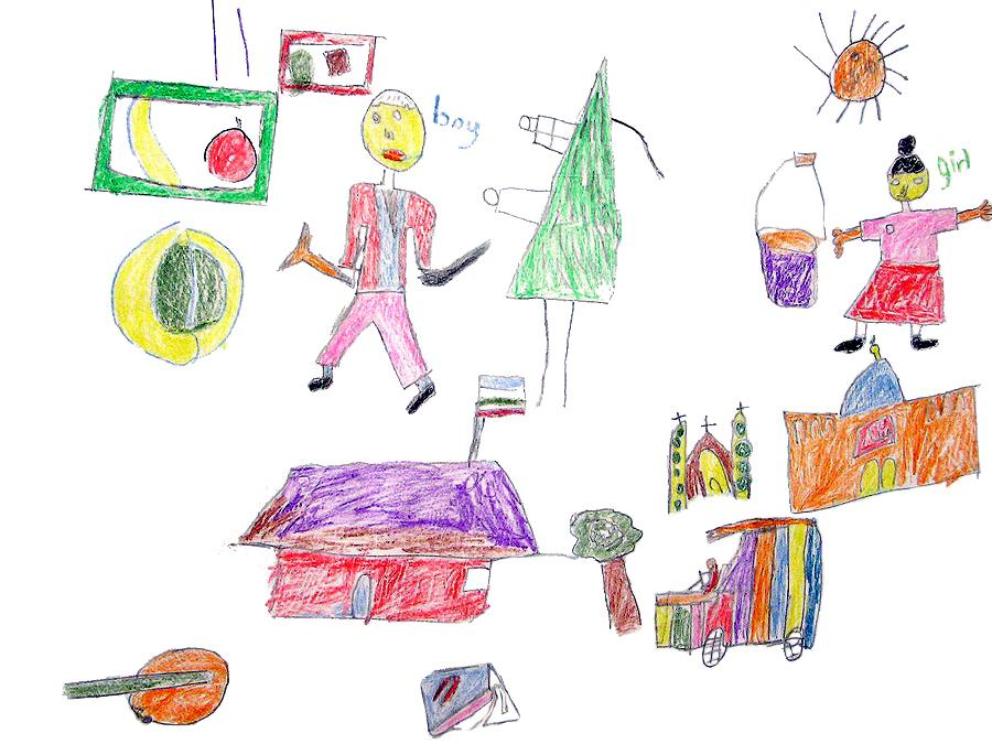900x675 Drawnings By A 6 Year Old Home Archive A Drawing By A 6 Year