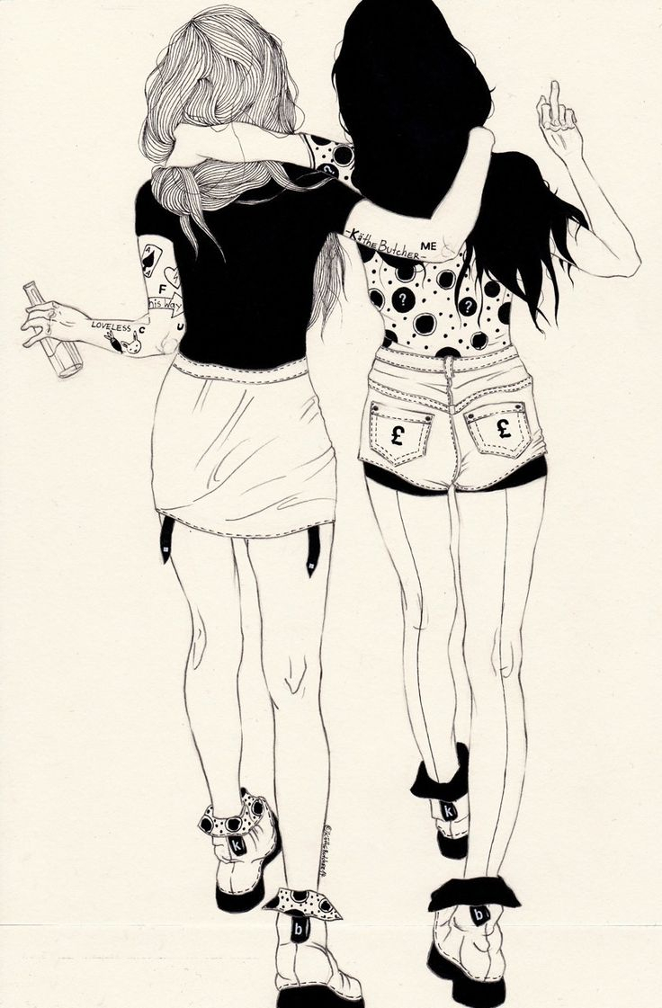736x1121 Friendship Drawings Tumblr 40 Best Best Friends Images
