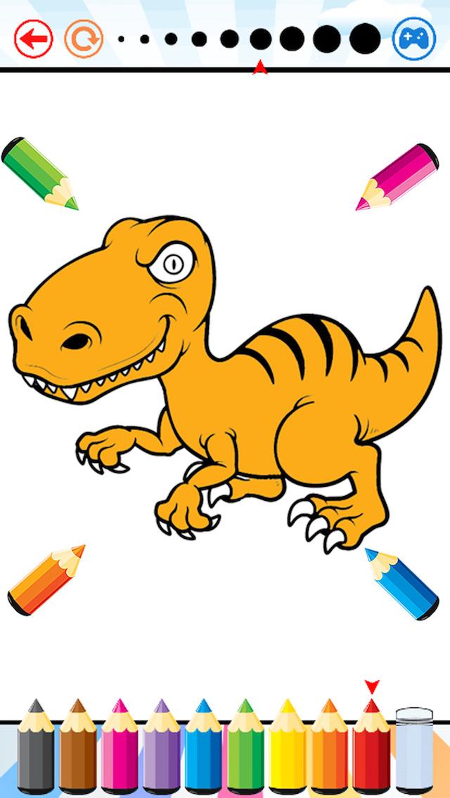 640x1136 Dinosaur Dragon Coloring Book