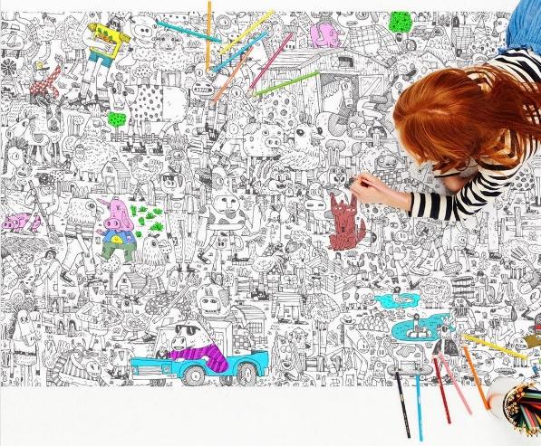 597x493 Marcs Rakuten Global Market Drawing For Coloring Large Size