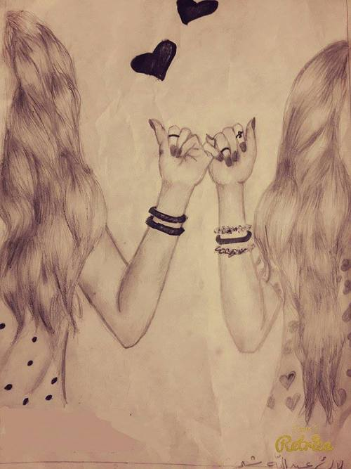 500x667 Friendship Draw Shared By On We Heart It