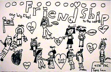 360x236 Gallery Friendship Pencil Sketch For Kids,