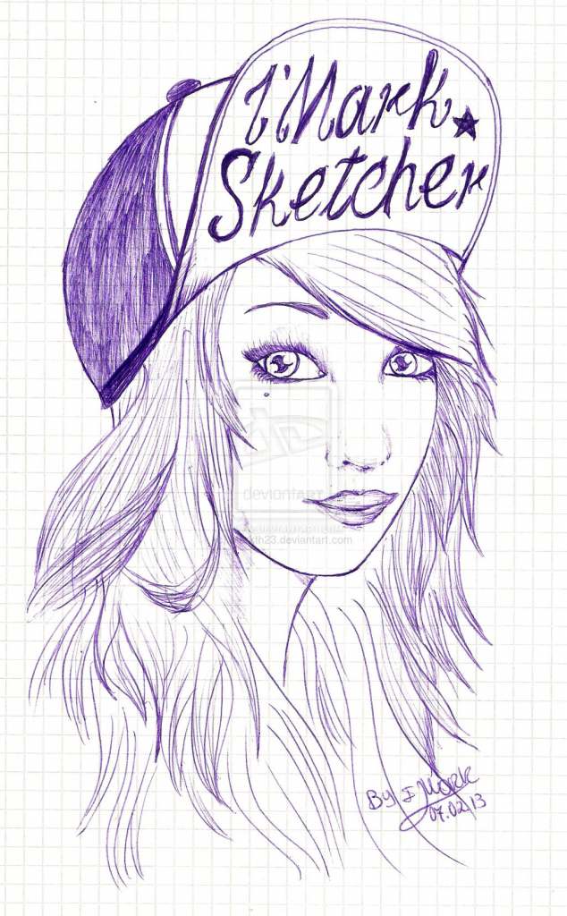 634x1024 Cute Drawing For Girls Tumblr Girls Drawings And Girl Drawings