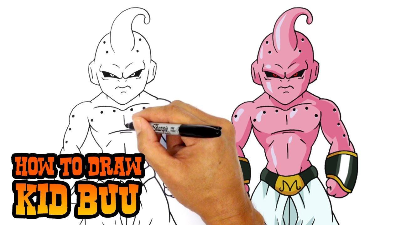 1280x720 How To Draw Kid Buu Dragon Ball Z