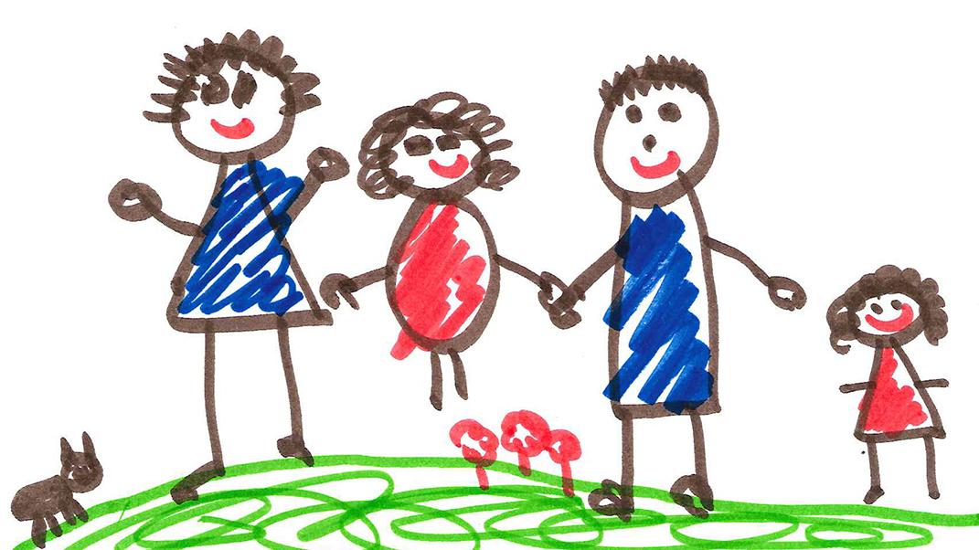 1071x602 Kids' Drawings Speak Volumes About Home Npr Ed Npr