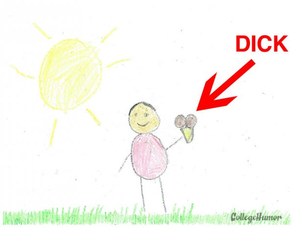 600x463 This Kid Didn'T Realize He Was Drawing Dicks
