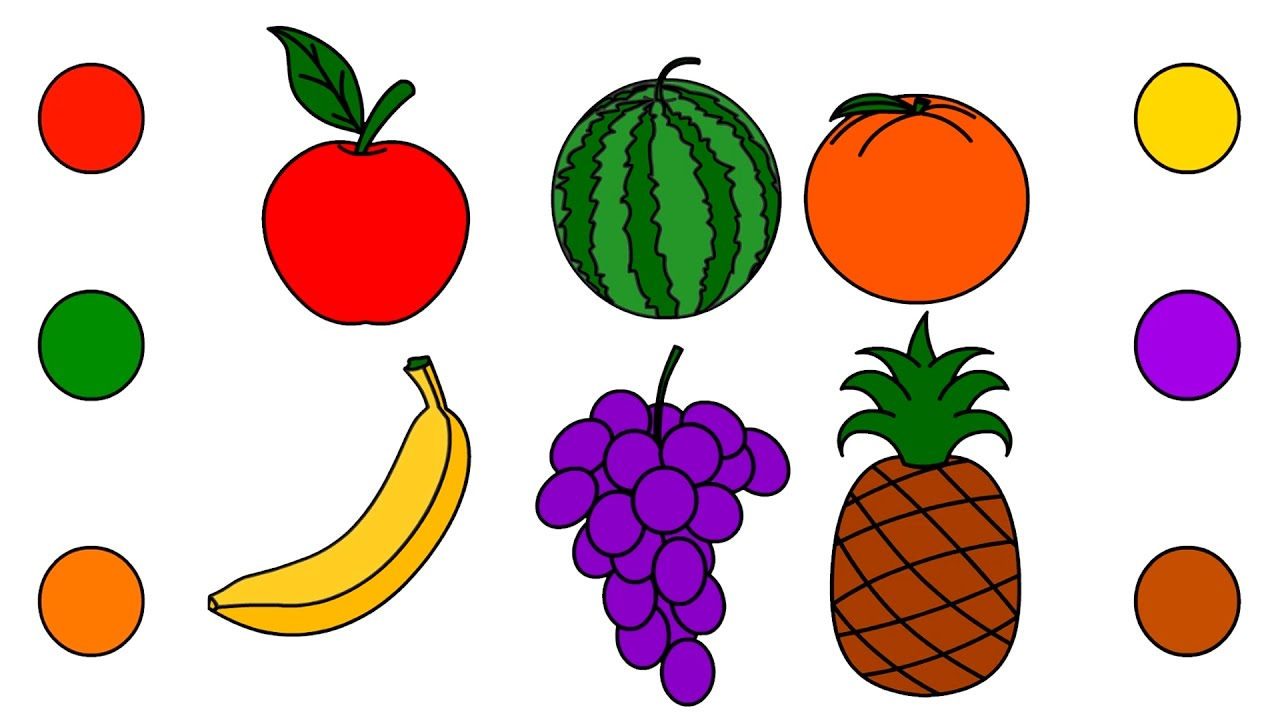 drawing for kids fruits at getdrawings com free for free clipart crayon box free crayon clipart images