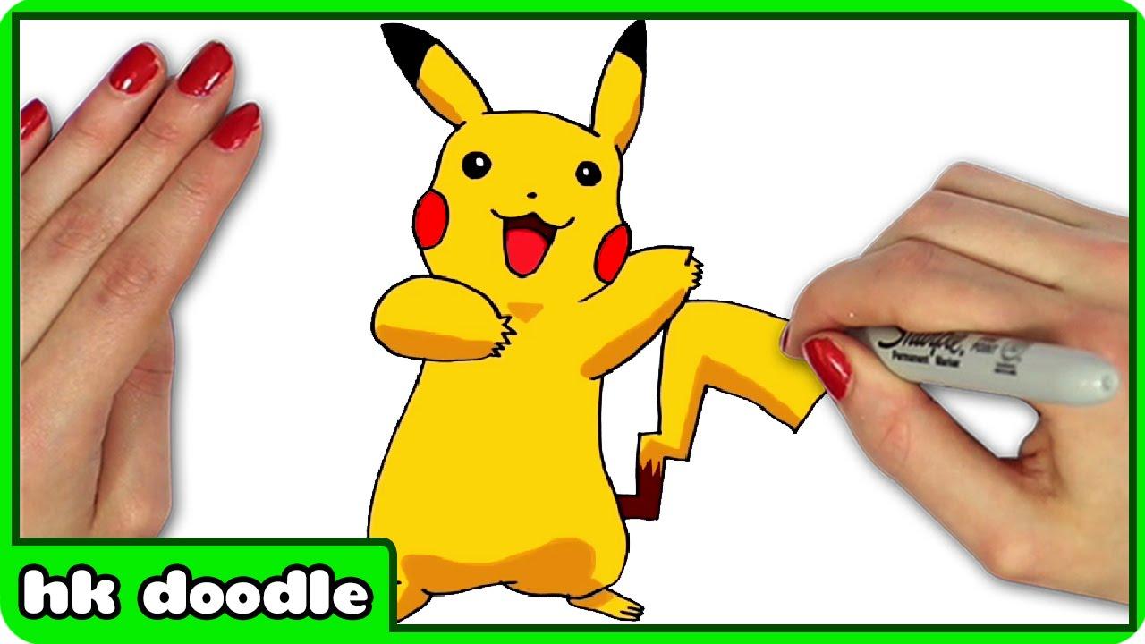 1280x720 How To Draw Pokemon Pikachu