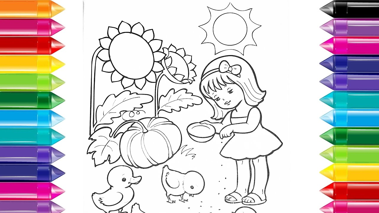 Drawing For Kids To Color at GetDrawings.com | Free for personal use ...