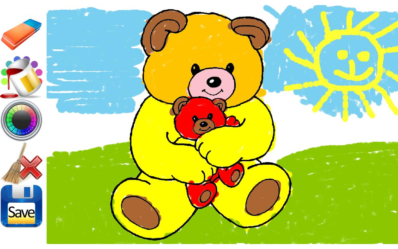 1280x800 Drawings For Children To Colour