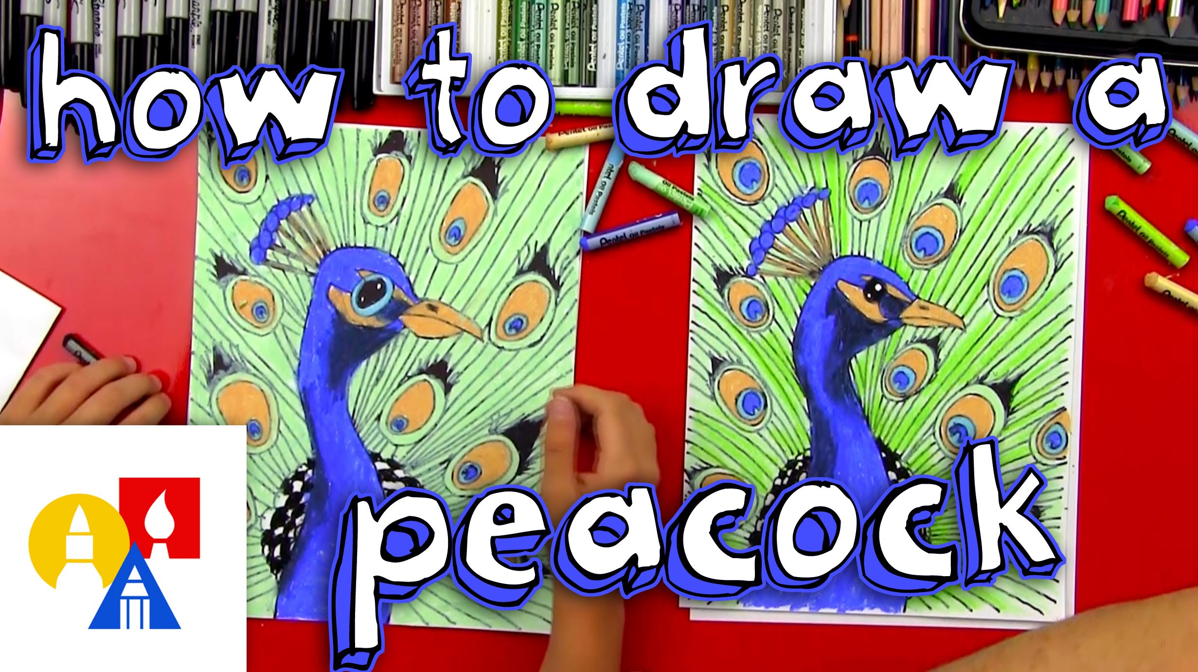 2463x1381 How To Draw A Peacock (Realistic)