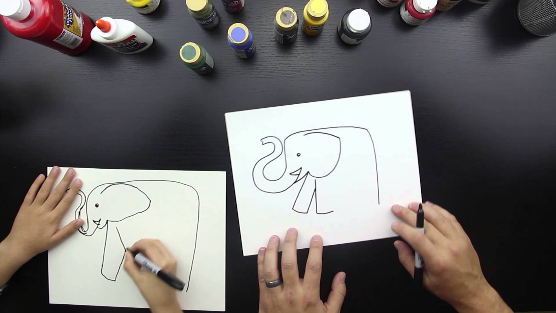 1920x1080 How To Draw An Elephant
