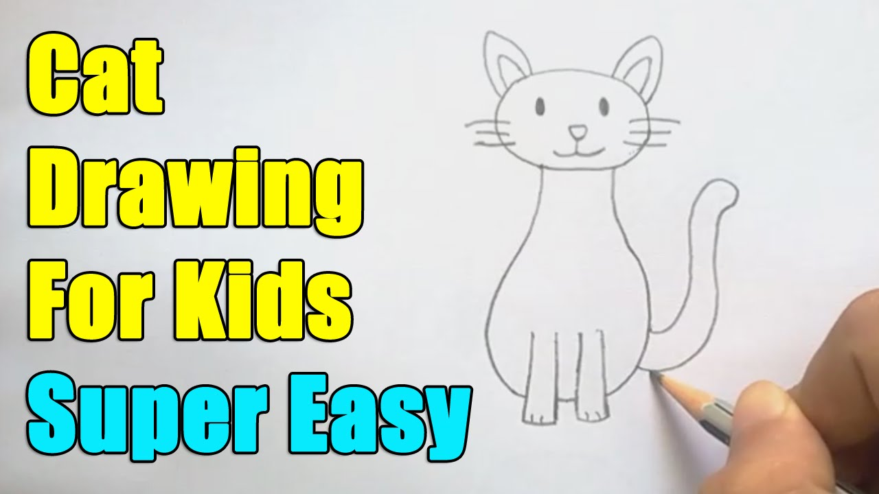 1280x720 How To Draw A Cat For Kids