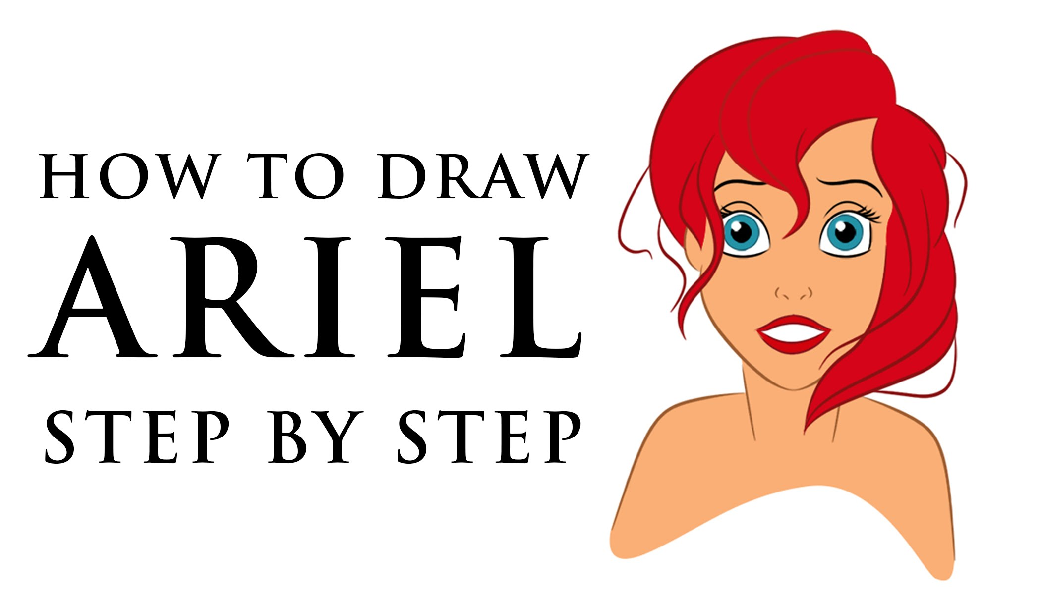 2100x1213 How To Draw Disney Princess Characters For Beginners And For Kids