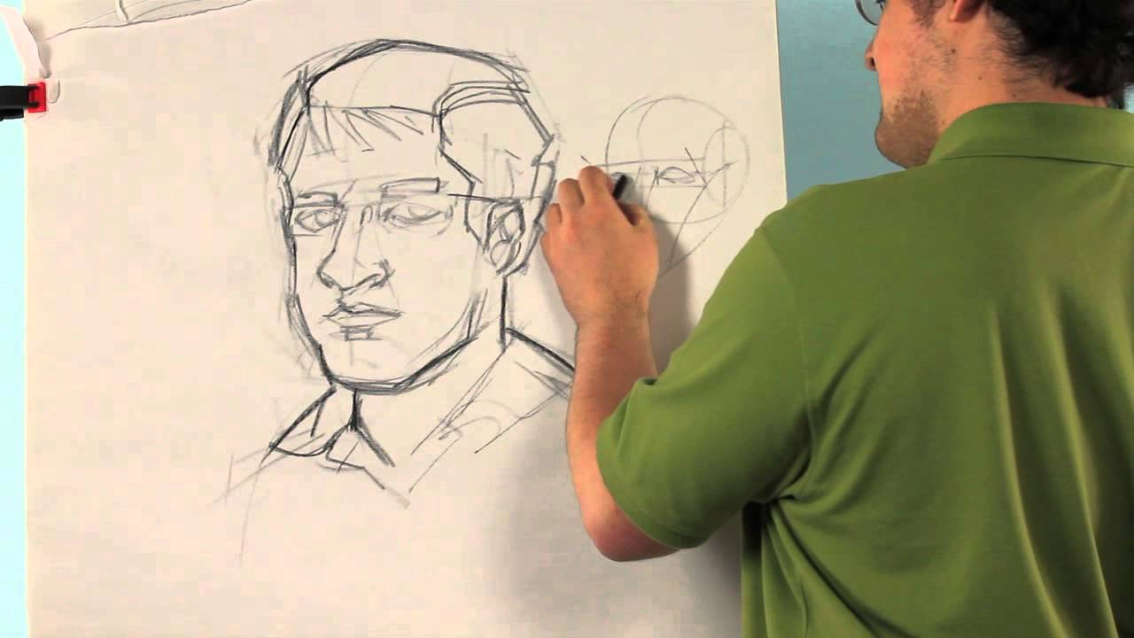 1280x720 How To Draw A Self Portrait For Middle School Drawing Tips