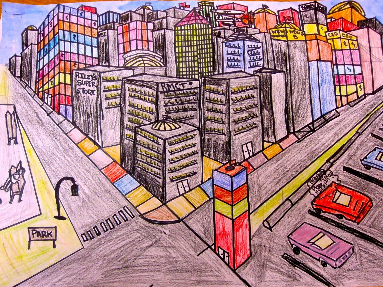1280x960 Perspective Drawing