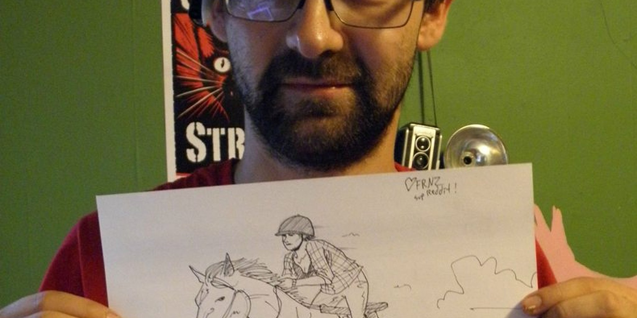 2048x1024 Artist Who Will Draw For Anything Proves Himself On Reddit