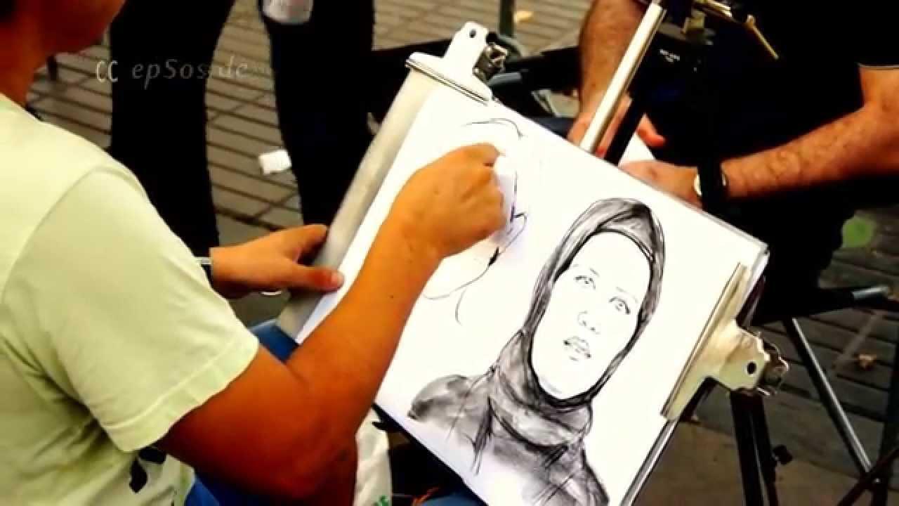 1280x720 Drawing Cartoon Portraits For Money