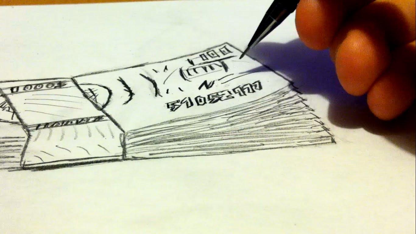 1366x768 How To Draw Money