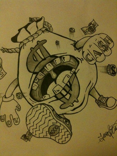 453x604 Money Tattoo Drawings Related Keywords Amp Suggestions