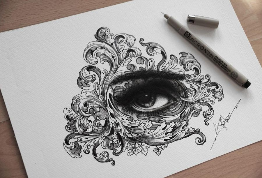900x611 Spider Money Creates Magic With A Pen And An Amazing Dot Drawing