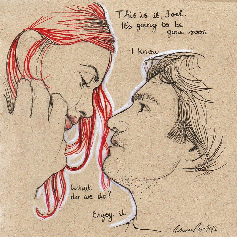 800x800 Eternal Sunshine Of The Spotless Mind Original Drawing For Sale