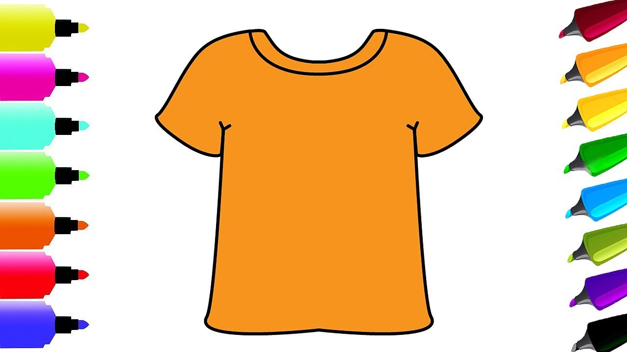 how to draw t shirts