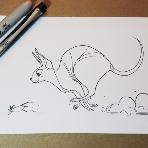 500x500 Daily Cat Drawings