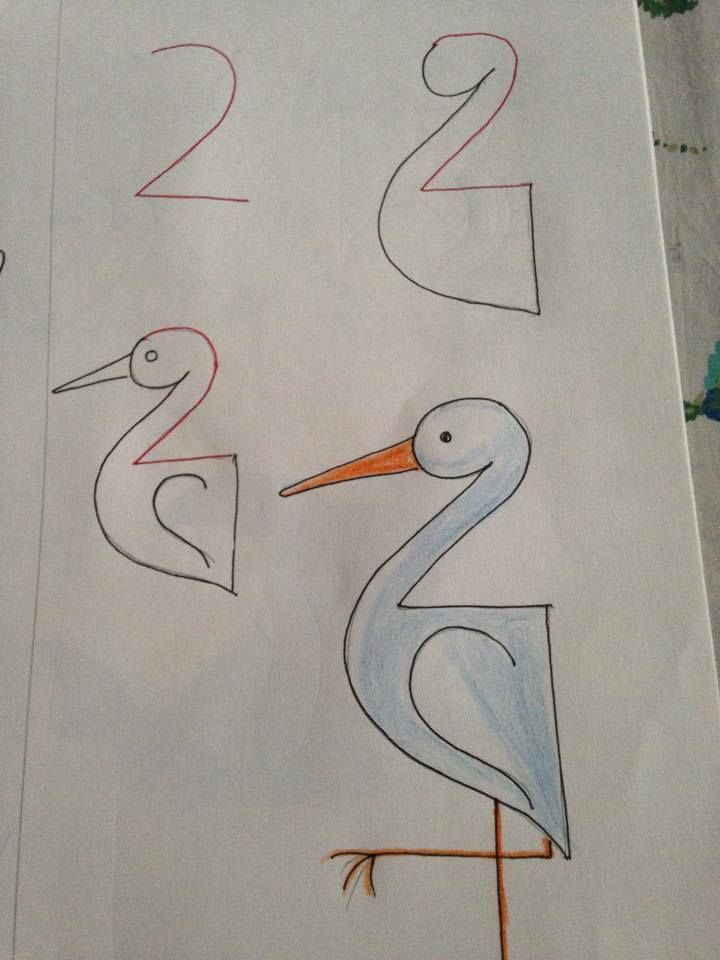720x960 Kids Friendly Drawing With Numbers As A Base755 Things To Teach