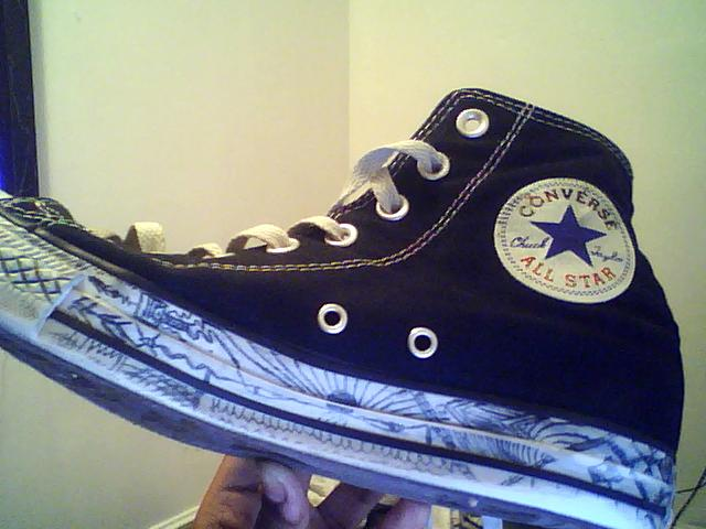 640x480 Converse Drawing. By Dameintk