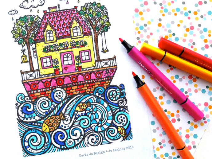 690x518 8 Cool Summer Coloring Pages For Teens + Tweens That Will Prevent