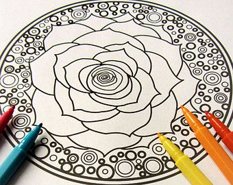 340x270 Mandala Coloring Ebook For Adults Amp Teens Pdf With By Nicolemiz