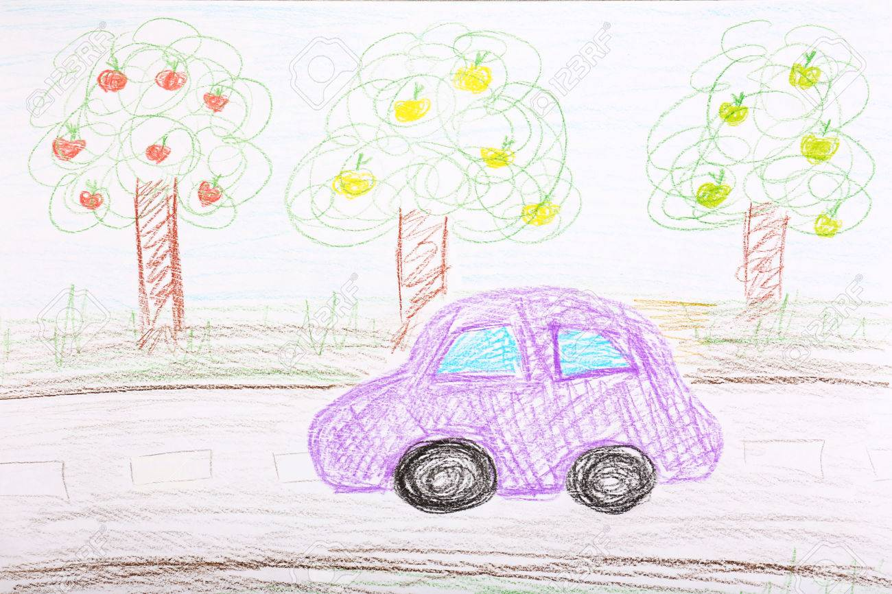 1300x866 Kids Drawing On White Sheet Of Paper Background Stock Photo