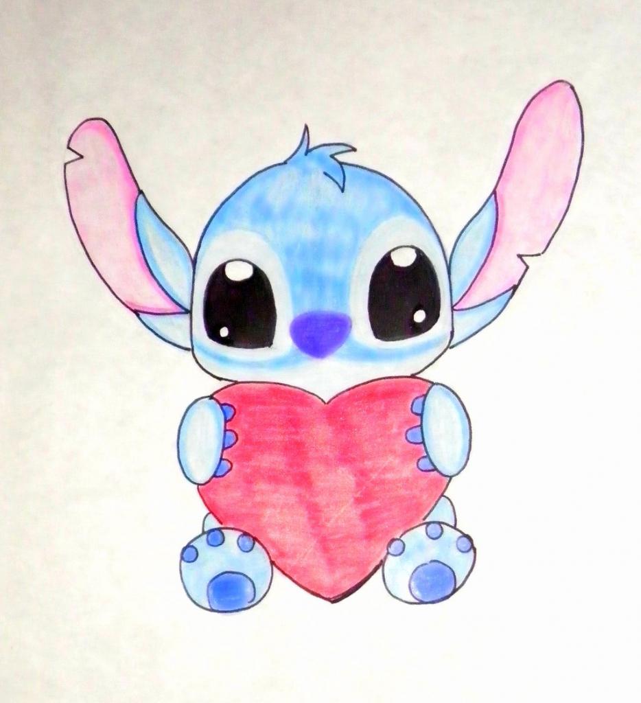 934x1024 Cute Drawings Of Disney Characters Cute Drawings Of Disney