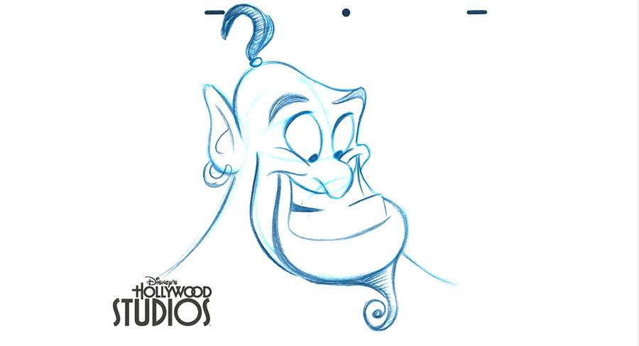900x488 Learn To Draw Aladdin's Pal, Genie,