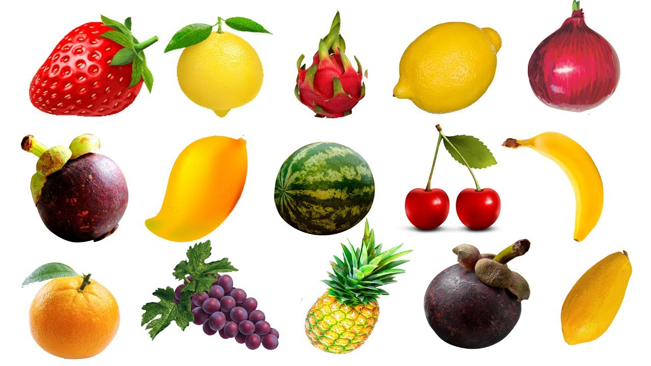 1280x720 Learn Names Of Fruits Vegetables For Kids Drawing Fruits