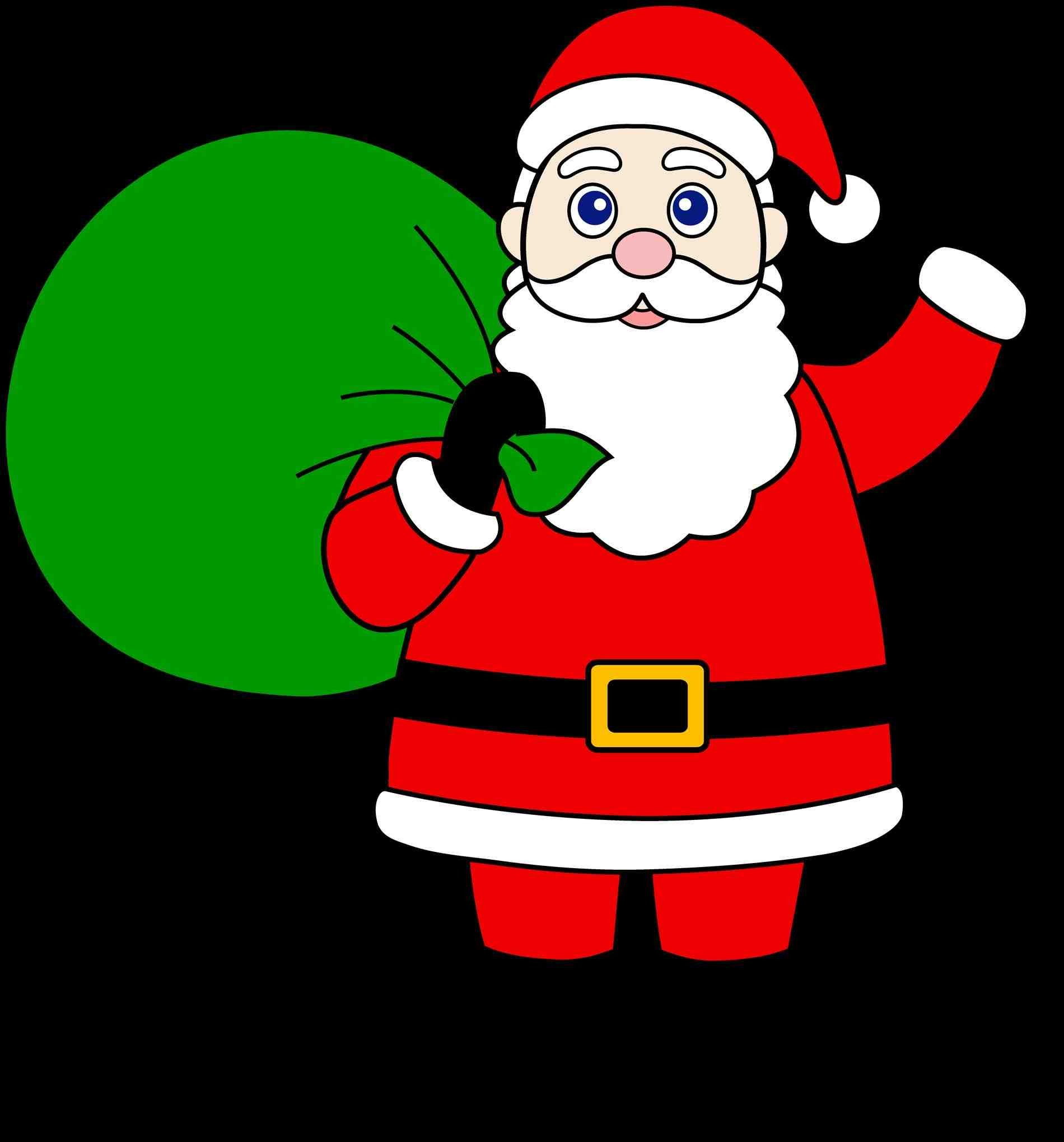 Drawing Pictures Of Santa Claus at GetDrawings.com | Free for ...