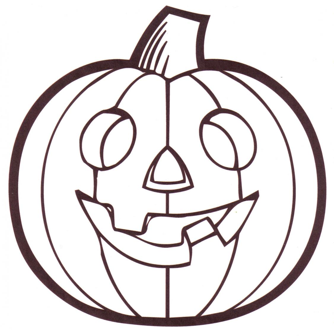 1126x1133 Printable Pumpkin Coloring Pages For Kids