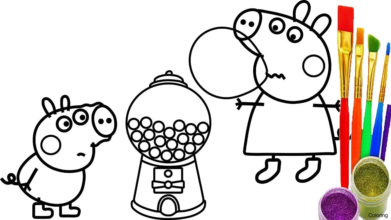 1280x720 Gumball And Fish Darwin Coloring Page Pages 19f Cartoon Printable