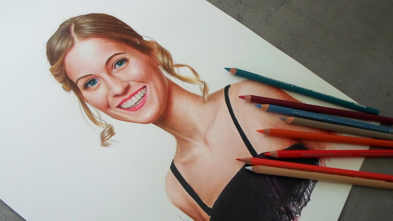 Drawing With Colored Pencils Youtube At Getdrawings Free For