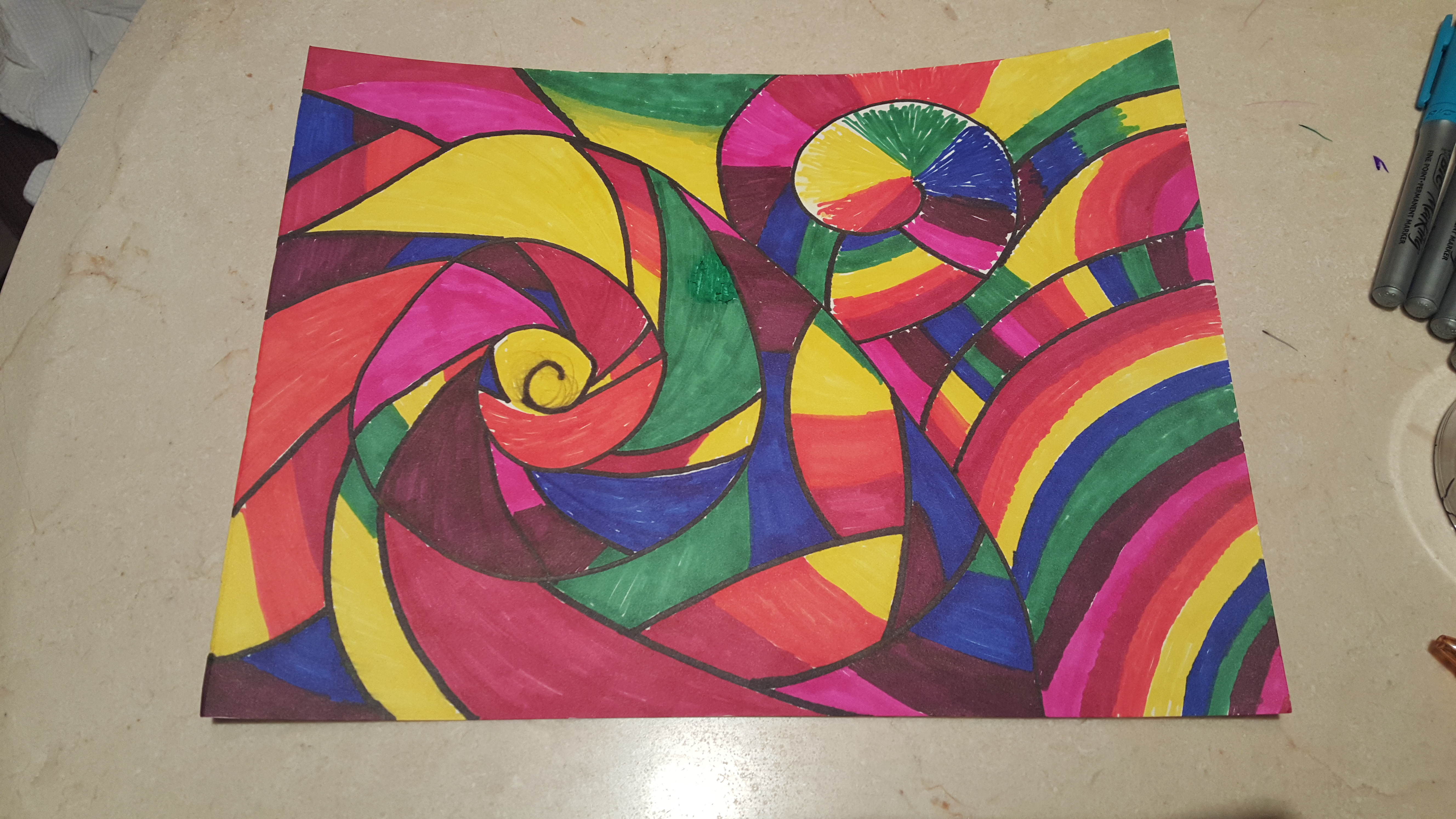 5312x2988 Lsd Trips Amp Drawing With Markers
