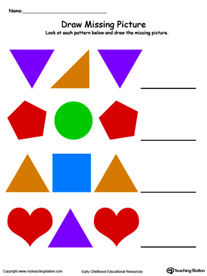 300x400 Kindergarten Printable Worksheets