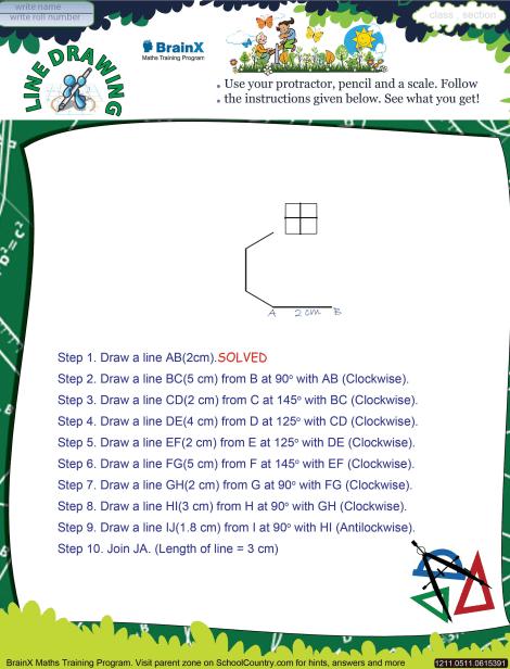 470x616 Line Drawing Math Worksheet For Grade 5 Free Amp Printable Worksheets