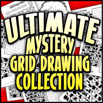 400x399 Ultimate Mystery Grid Drawing Collection