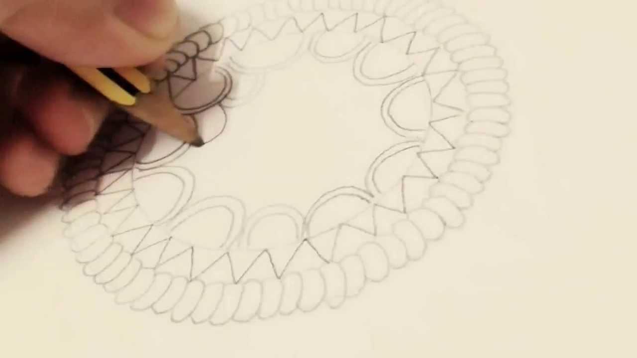 1280x720 How To Draw A Dream Catcher Beginners