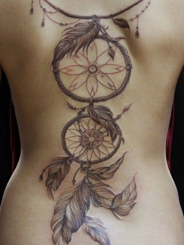 600x800 72 Unique Dreamcatcher Tattoos With Images